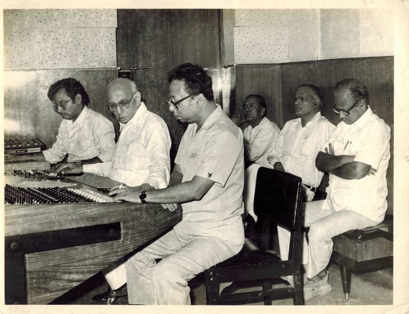 Composing music with RD Burman